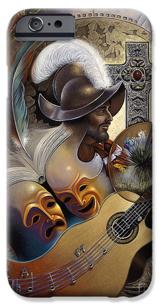 Culture Paintings iPhone Cases - Color y Cultura iPhone Case by Ricardo Chavez-Mendez