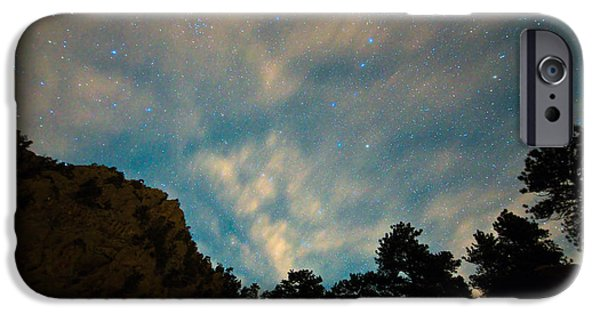 Constellations iPhone Cases - Colorado Canyon Star Gazing  iPhone Case by James BO  Insogna