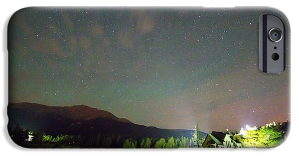 Chapel On The Rock iPhone Cases - Colorado Chapel On The Rock Dreamy Night Sky iPhone Case by James BO  Insogna