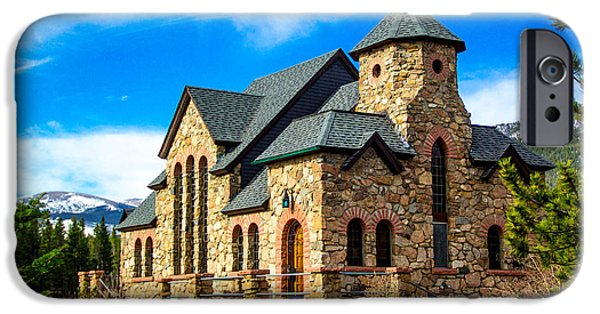 Chapel On The Rock iPhone Cases - Chapel on the Rock iPhone Case by Leisha Cavallaro
