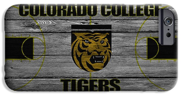 Tiger Stadium iPhone Cases - Colorado College Tigers iPhone Case by Joe Hamilton