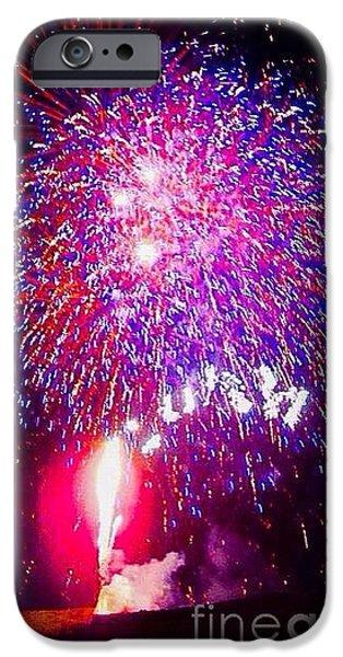 Colorado Fireworks  iPhone Case by Trisha Buchanan