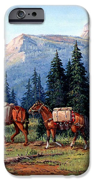 Colorado Outfitter iPhone Case by Randy Follis