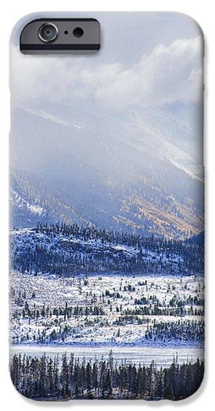 Colorado Rocky Mountain Autumn Storm iPhone Case by James BO  Insogna