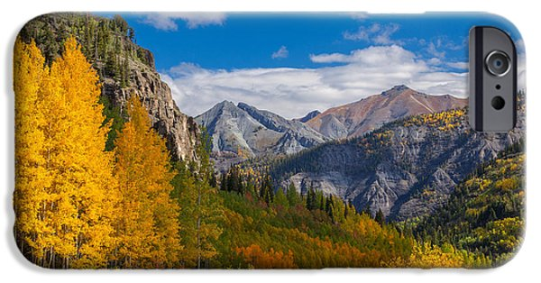 Fall iPhone Cases - Colorados Carpet of Color iPhone Case by Darren  White