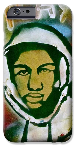 American Conservative Party iPhone Cases - Colored Trayvon iPhone Case by Tony B Conscious