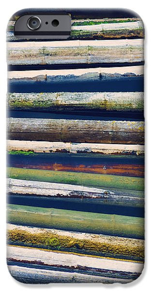 Colorful Bamboo iPhone Case by Wim Lanclus