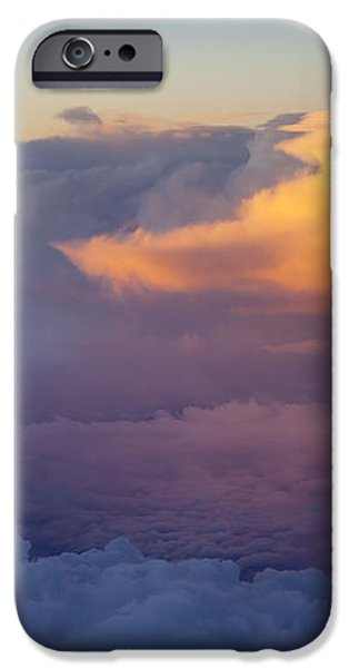 Colorful Cloud iPhone Case by Brian Jannsen