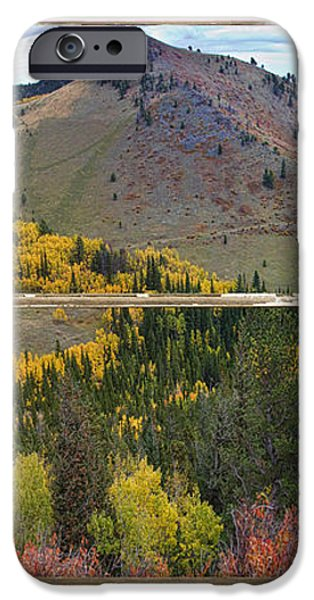 Colorful Colorado Rustic Window View iPhone Case by James BO  Insogna