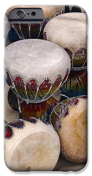 Colorful Congas iPhone Case by Carlos Caetano