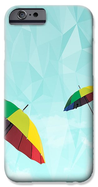 colorful day iPhone Case by Mark Ashkenazi