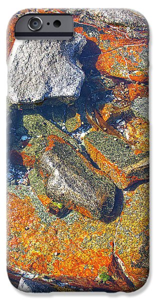 Colorful Earth History iPhone Case by Heiko Koehrer-Wagner