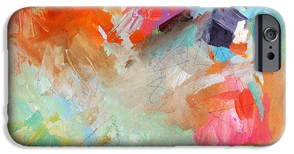 Decorative Mixed Media iPhone Cases - Colorful joy iPhone Case by Svetlana Novikova