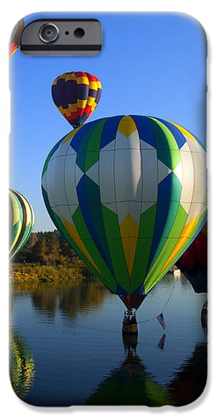 Colorful Landings iPhone Case by Mike  Dawson