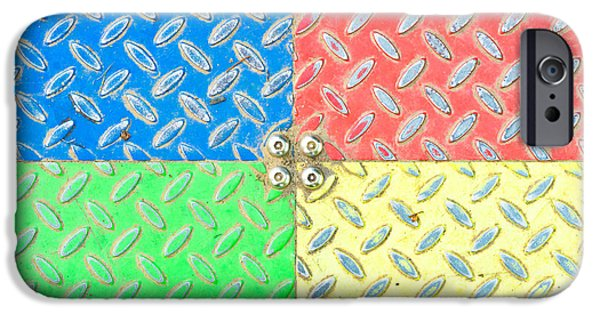 Solid iPhone Cases - Colorful metal iPhone Case by Tom Gowanlock