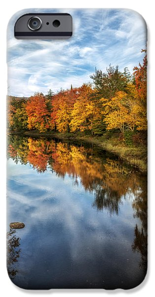 Beauty Mark Photographs iPhone Cases - Colorful Reflection iPhone Case by Mark Papke