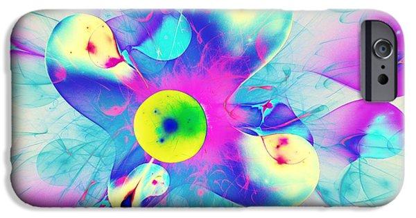 Girl iPhone Cases - Colorful Splash iPhone Case by Anastasiya Malakhova