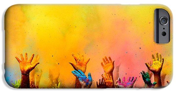 Washingtondc iPhone Cases - Colors of Faith iPhone Case by Devesh Tripathi