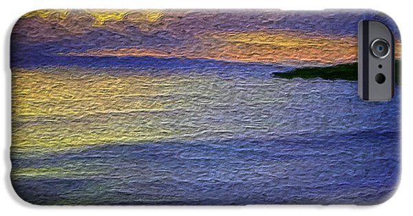 Seascape iPhone Cases - Colors of paradise iPhone Case by Anthony Fishburne