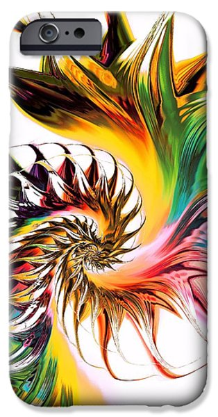 Passion iPhone Cases - Colors of Passion iPhone Case by Anastasiya Malakhova