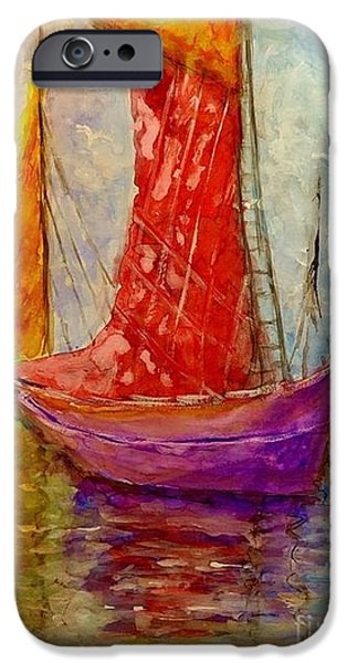 Abstract Seascape iPhone Cases - Colors symphony.. iPhone Case by Cristina Mihailescu