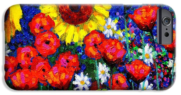 Varnish iPhone Cases - Colour Cluster iPhone Case by John  Nolan