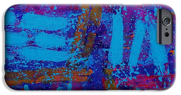 Fine Art Abstract iPhone Cases - Colour Notation iPhone Case by John  Nolan