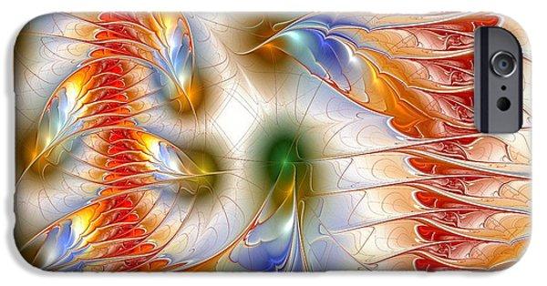 Mythology iPhone Cases - Colourful Emotions iPhone Case by Anastasiya Malakhova