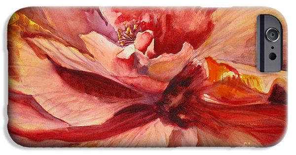 Exoticism iPhone Cases - Colourful Hibiscus iPhone Case by Mohamed Hirji