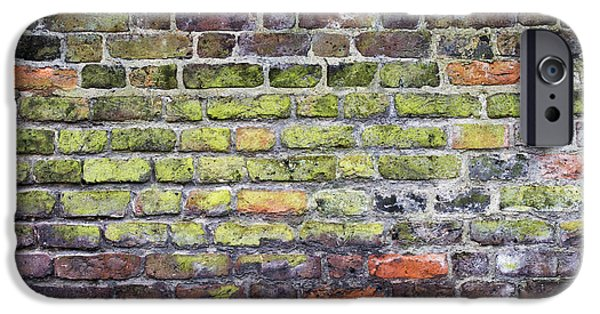 Alga Photographs iPhone Cases - Colourful London Bricks iPhone Case by Tim Gainey