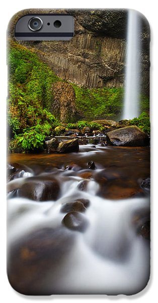 Lush iPhone Cases - Columbia Gorge Richness iPhone Case by Darren  White
