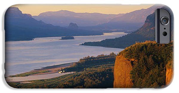 Coos iPhone Cases - Columbia River Or iPhone Case by Panoramic Images