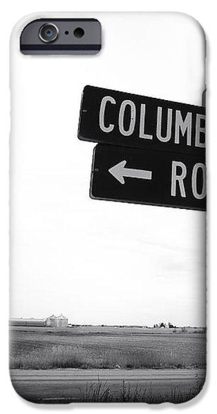 Columbian Boulevard iPhone Case by John Rizzuto