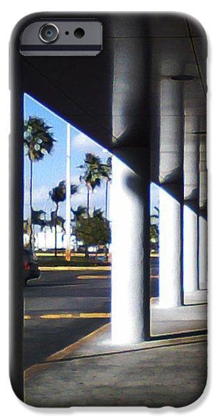 Column Corridor  iPhone Case by Eric Rodriguez