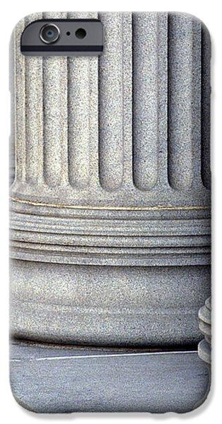 Columns iPhone Case by Jon Neidert