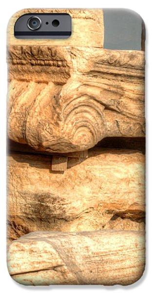 Columns of the Parthenon iPhone Case by Deborah Smolinske