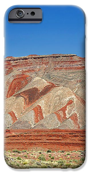 Comb Ridge Utah near Mexican Hat iPhone Case by Christine Till