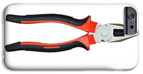 Diy iPhone Cases - Combination Pliers iPhone Case by Michal Boubin