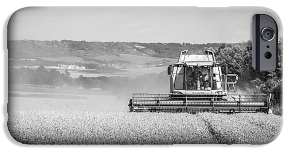 Combine iPhone Cases - Combine Harvester iPhone Case by Gary Gillette