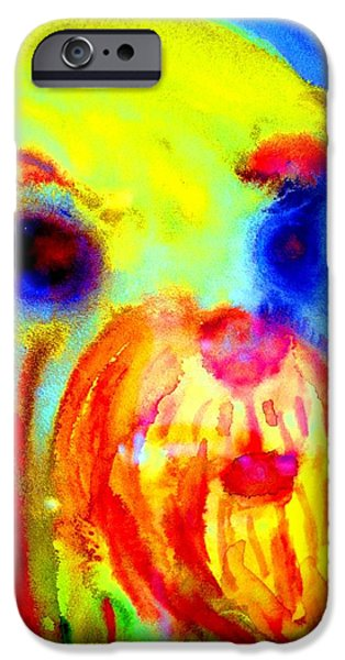Response Paintings iPhone Cases - Come Back To Me iPhone Case by Hilde Widerberg
