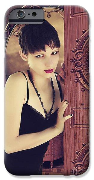 Linda Lees iPhone Cases - Come Inside iPhone Case by Linda Lees