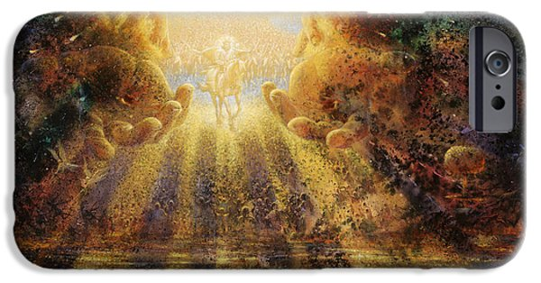 Religious Art iPhone Cases - Come Lord Come iPhone Case by Graham Braddock