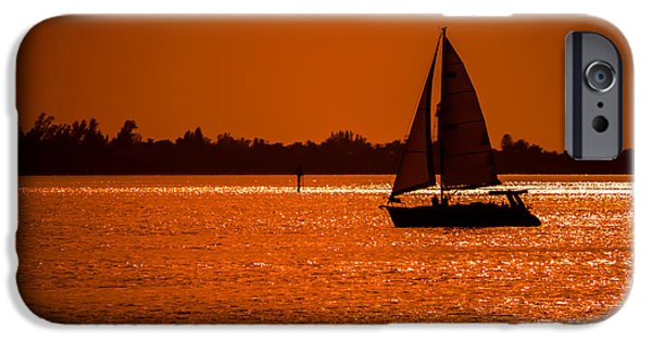 Sailing iPhone Cases - Come Sail Away iPhone Case by Edward Fielding