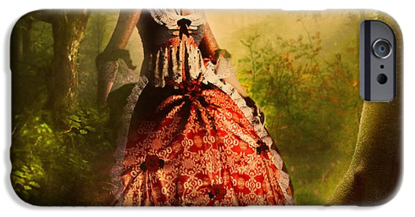 Romanovna iPhone Cases - Come To Me In The Moonlight iPhone Case by Georgiana Romanovna