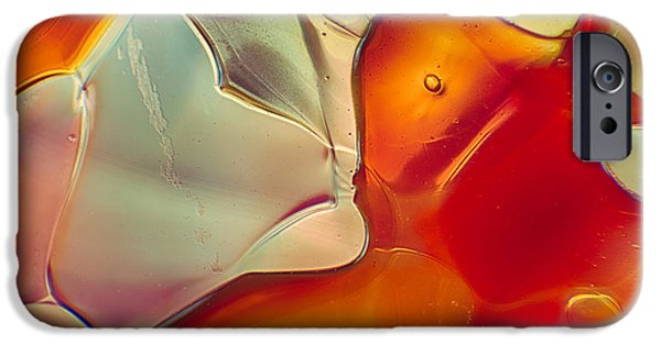 Fine Abstract Glass iPhone Cases - Comfort iPhone Case by Omaste Witkowski