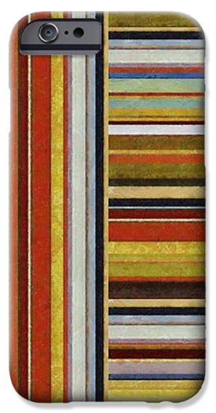 Comfortable Stripes lX iPhone Case by Michelle Calkins