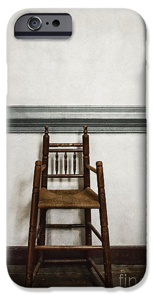 Empty Chairs iPhone Cases - Comforts of Home iPhone Case by Margie Hurwich