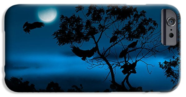 Roosting iPhone Cases - Coming Home To Roost iPhone Case by Bill  Wakeley