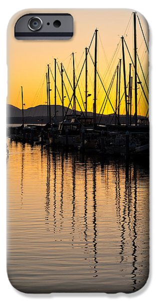 Boat iPhone Cases - Coming In iPhone Case by Mike Reid