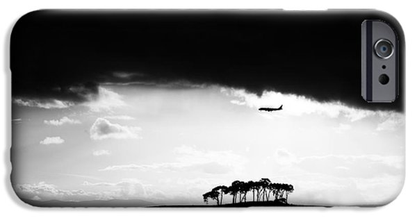 Mounds iPhone Cases - Coming into land  iPhone Case by Tim Gainey